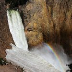 Rainbow in the falls (from uncle tom's trail)