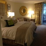 Bedroom at the Trump Doral (home of Pritikin Center)