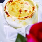 French Onion Soup Baked with Gruyere Cheese