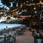 Spiaggia e ristorante