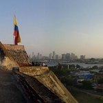 Cartagena vista desde el castillo de San Felipe