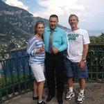 Amalfi Coast with our driver Alex