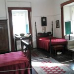 One of the rooms with antique furniture