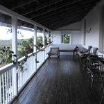17ft long verandah