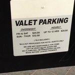 Seems to me like parking on Friday & Saturday is $24 not $48….