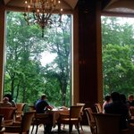 Nice breakfast with a great view of the Central Park.