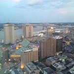 view from my room on the 45th floor