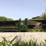 Casa Redonda desde la piscina