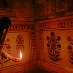 Exploring corners of the Agra fort