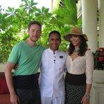 Johnfi Rivera was a great butler.