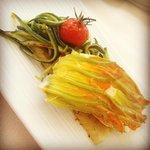 Dorado blossoming on my plate