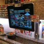 ресторанчик. заказ через iPad.