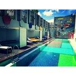 Pool at Luna2 Studio