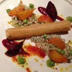 Canneloni with cous cous