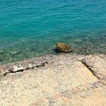 Спуск в море с пляжа
