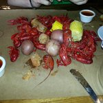 Craw fish broil!!!!! :-) delish!