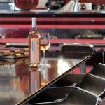 Enjoy a glass of wine at our elegant Wine Bar