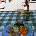 Salatvariation mit Holzfällersteak