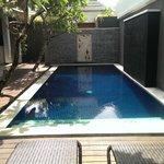 Clean and fresh pool
