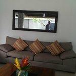 Open living room..pool facing