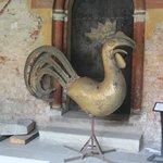 Петушок со шпиля домского собора