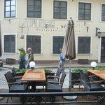 Открытое кафе отеля