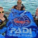 Diving with PADI EMEA staff