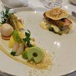 Zeebaars met groene asperges