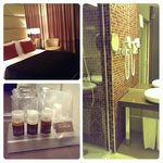 double room & bathroom