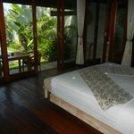 Bedroom on entering