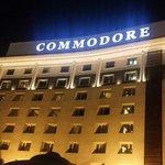 Commodore Hotel.