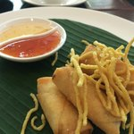 Spring rolls for lunch