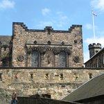 A part of the Edinburgh Castle