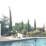 Hotel du Chateau Pool Area