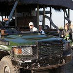 Getting ready for a game drive.