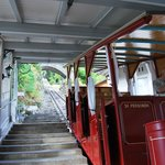 The cable car to the falls