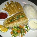 Grilled Fish Steak Set