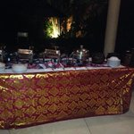 The Villas BBQ nite