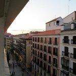 Calle Arenal vista da finestra stanza