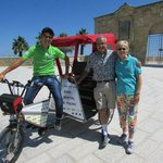 Velo Service Rickshaw Tour with our driver Roger