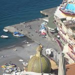 Beach in Positano