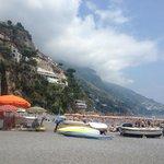 Beach Area of Positano