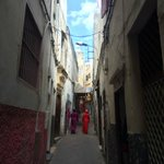 Typical Tangier street scene