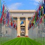 Entrada do headquarter da ONU