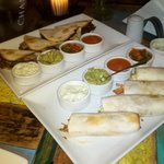 Tacos con salsas ...impresionante !