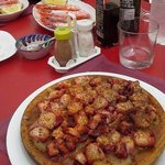 Grilled octopus, Spanish style