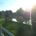 Fishing lake - Chateau de Lez-Eaux