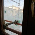 Вид из окна удручал