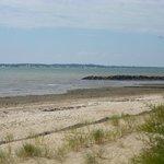 la plage face a Oléron
