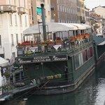 Happy Hour barge restaurant 1